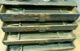 和竿の道具