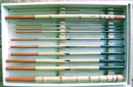 漆塗り和竿の画像